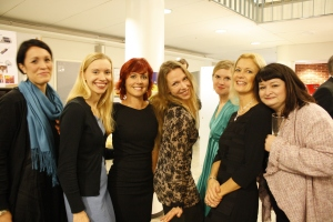 Bilder från Brändö gymnasiums 100-års jubileums mottagning och cocktail-tillställning i skolan fre 12.10.