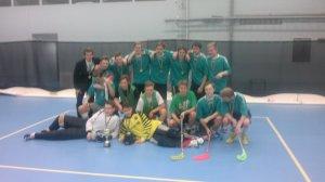 Innebandypojkarna vann GULD i SFSI-mästerskapet