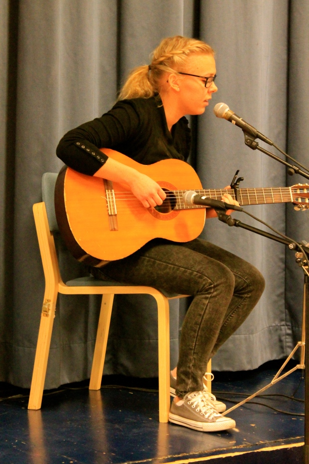 "Ronja Lindström sjöng mycket vackert ""Halleluja""."