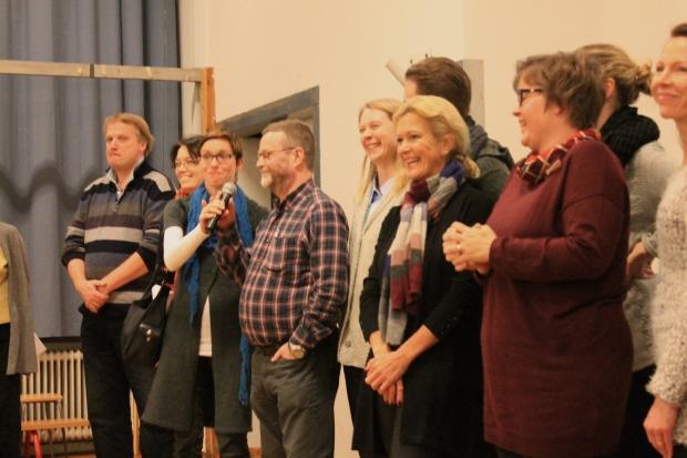 Lärarna presenterar sig själva för blivande Brändöelever.