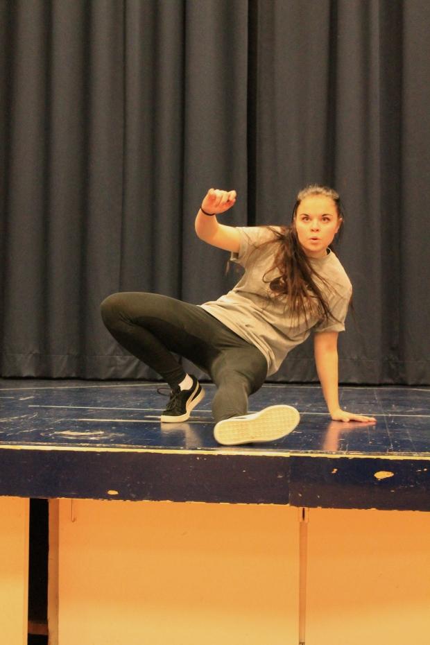 """Ella uppträdde med en dansuppvisning som verkligen hade """"soul""""!"""