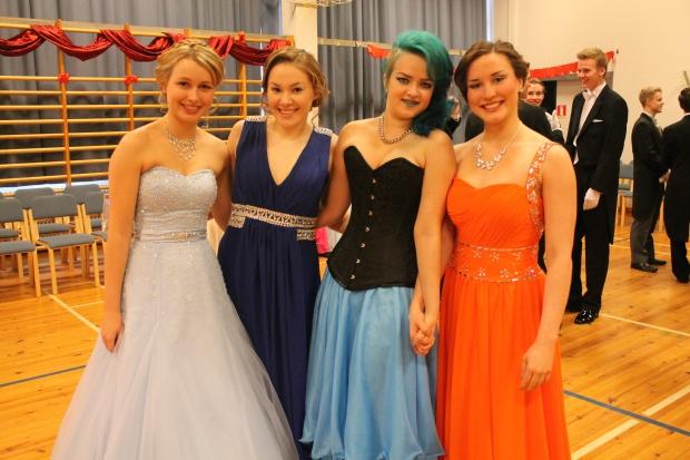Jessica, Anna, Tonje och Jessica