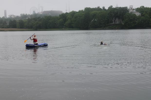 Simning i 10 grader!