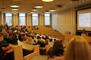 Igår besökte några abiturienter Helsingfors Universitet på en info evenemang.